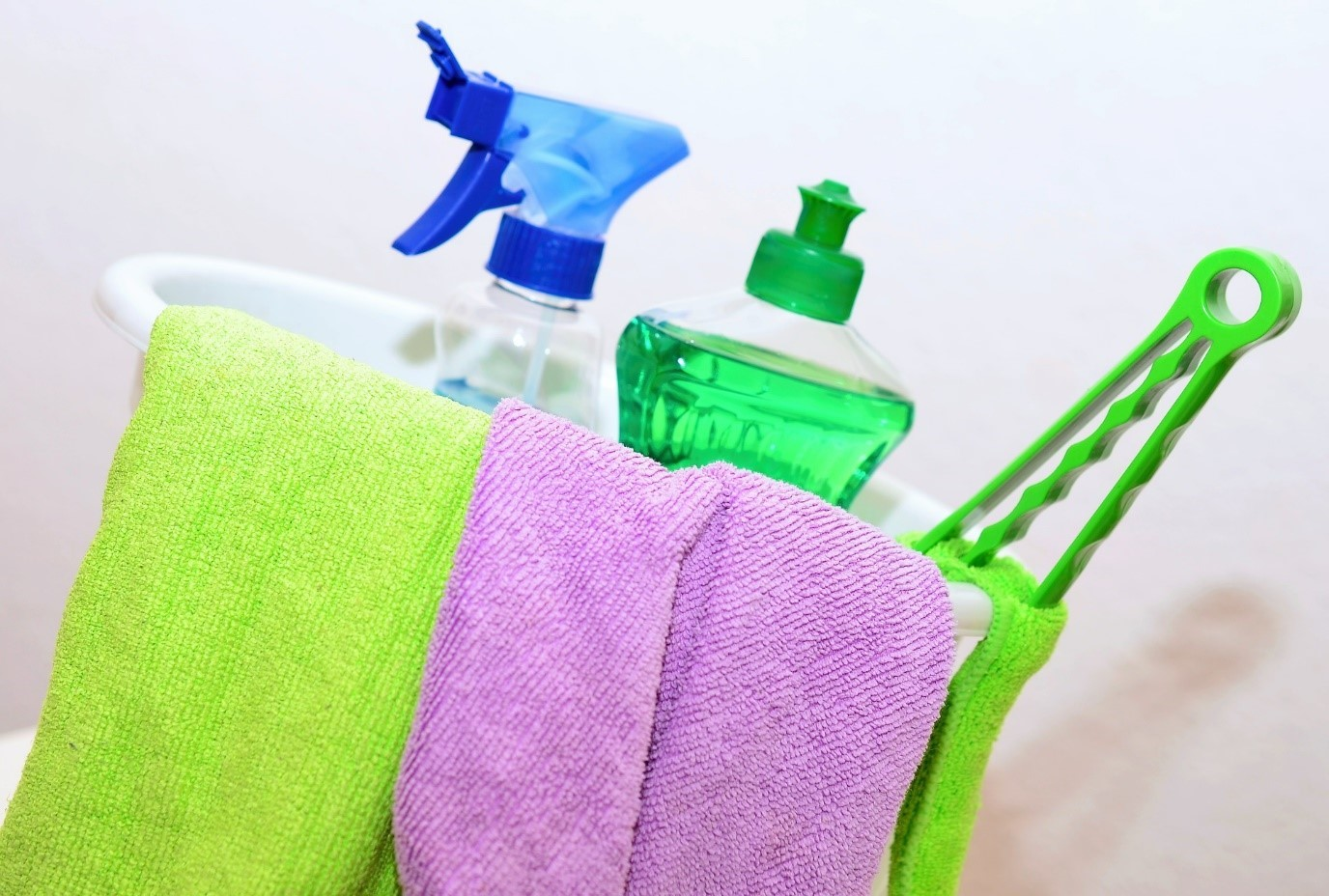 5 Ways to Speed Up Your House Cleaning Despite a Busy Schedule cleaning supplies
