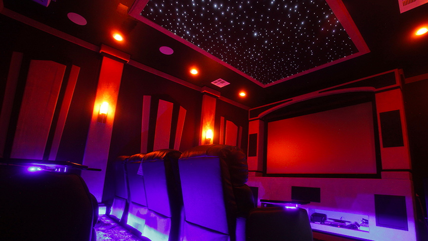 How to Design the Ultimate Game Room red lighting