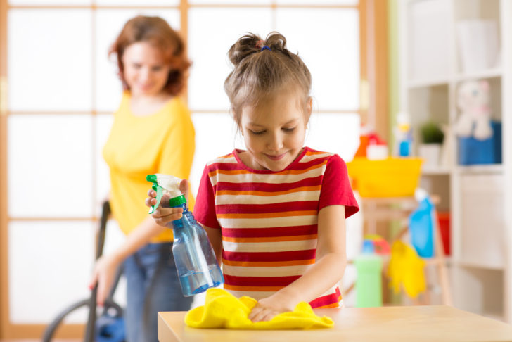 How to Motivate Kids for Doing Household Chores
