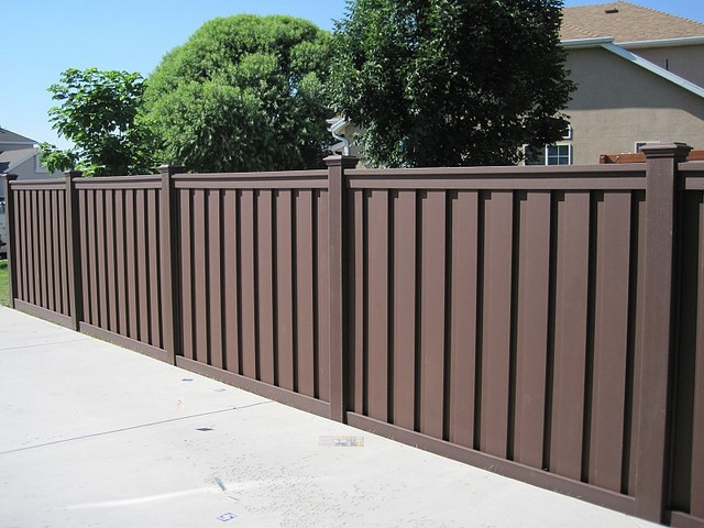 All the Curb Appeal with None of the Effort brown fence
