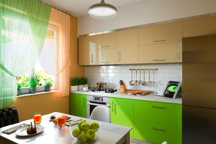 How To Transform A Boring Kitchen Into A Creative and Colorful Cooking Space