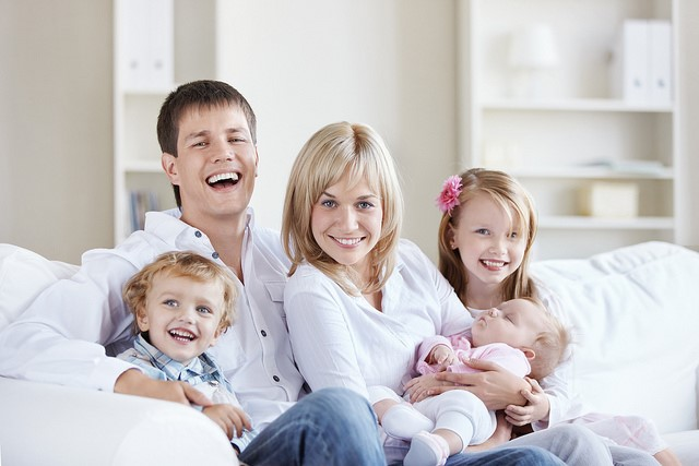Keep On Top Of The Household Chores With This Simple Guide smiling happy family