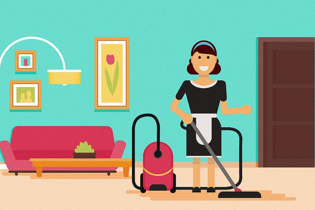 Keep On Top Of The Household Chores With This Simple Guide maid cleaning