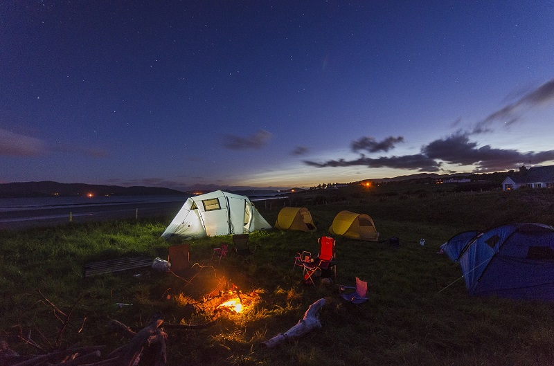 Why Everyone Should Go Camping Once In a Lifetime tent on the sunrise