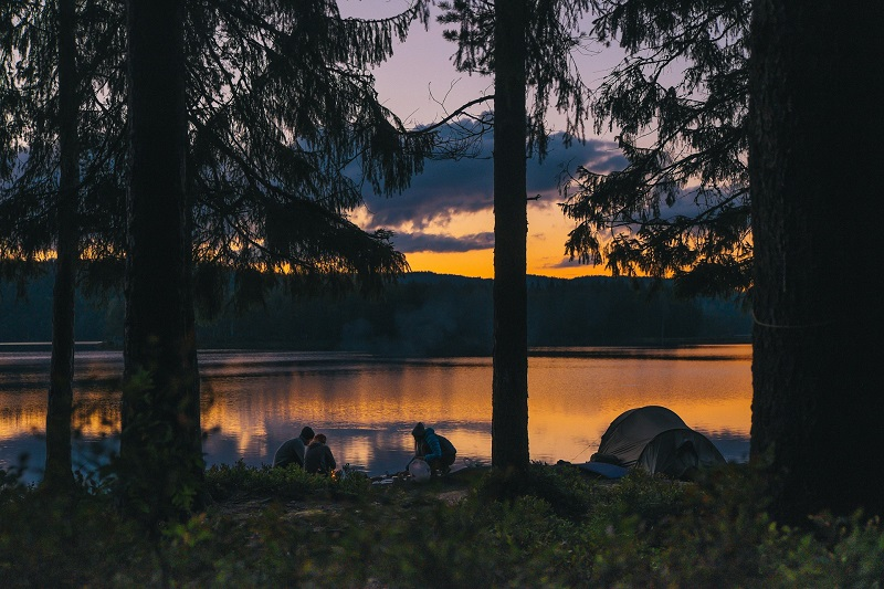 Why Everyone Should Go Camping Once In a Lifetime beautiful sunrise lake