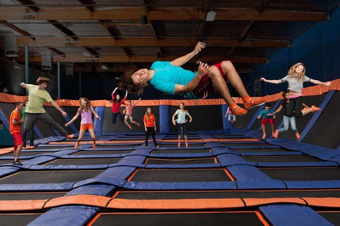 Some of the best services offered for kid's birthday parties at Trampoline Park flip