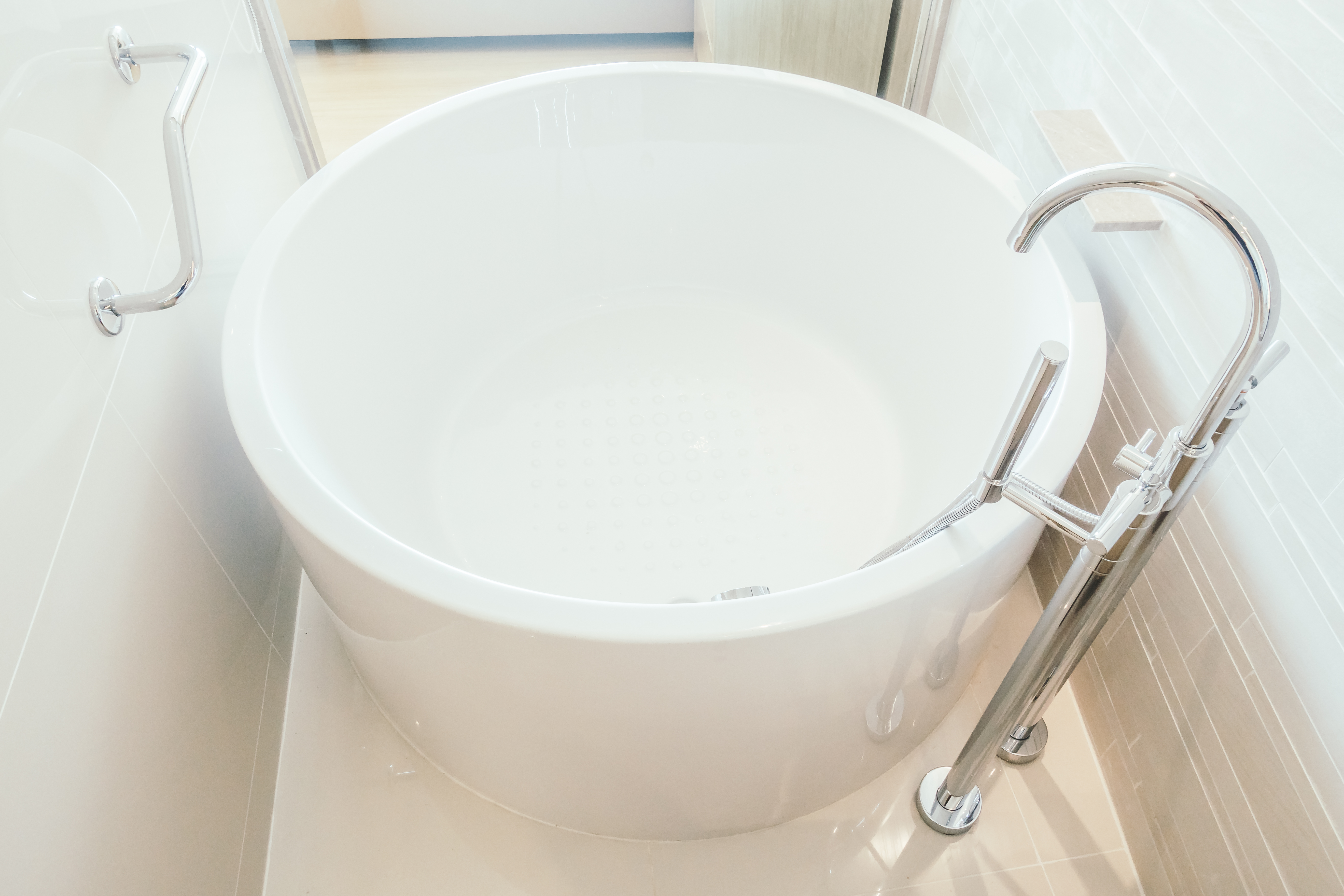 Grab Bar for a Shower