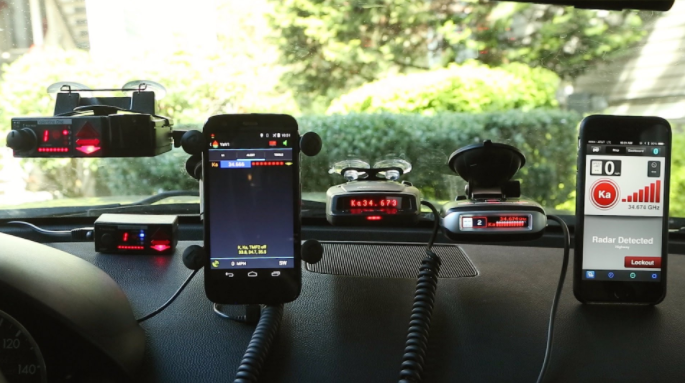 The Differences between Laser and Older Radar Detectors