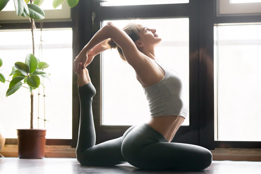 Key Ways To Keep Healthy and Burn More Fat In Life yoga girl