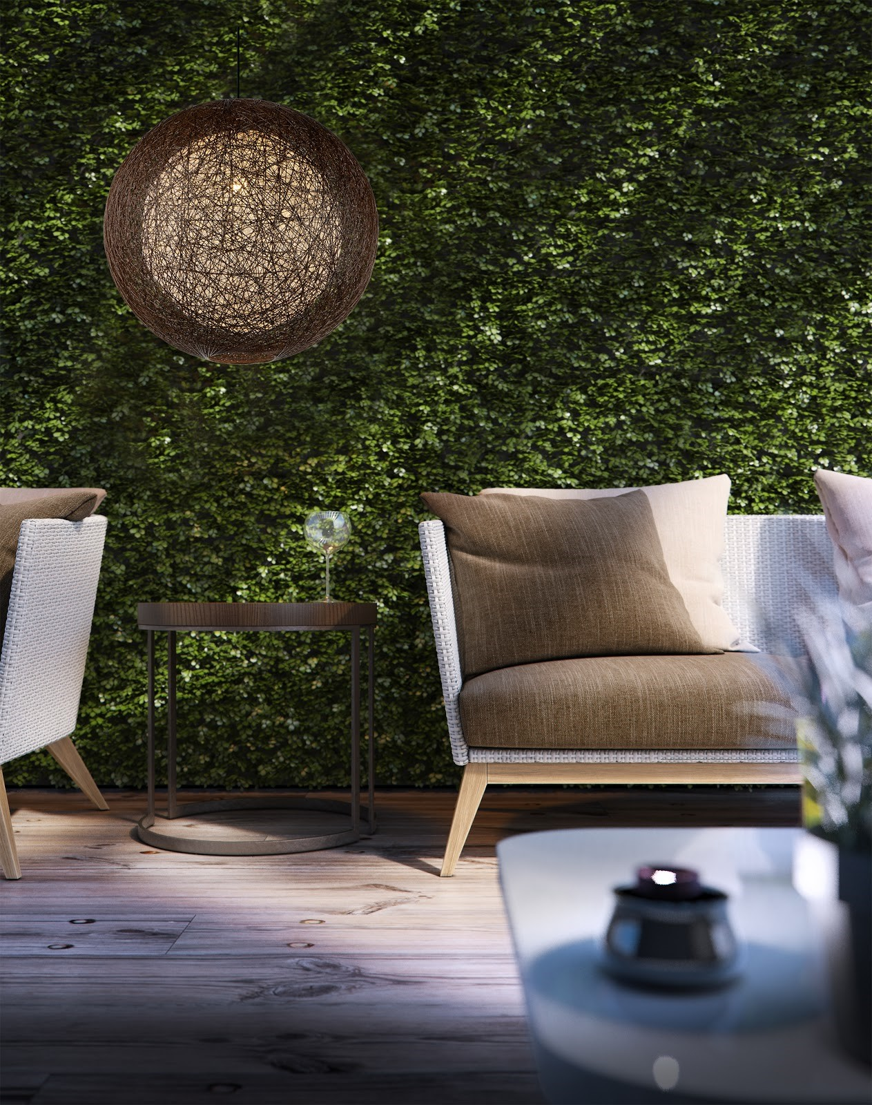 3 Best Lighting Fixtures to Illuminate Your Patio or Space bushes