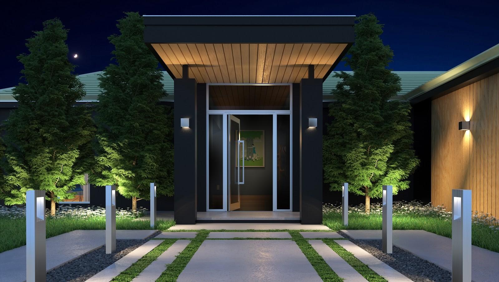 3 Best Lighting Fixtures to Illuminate Your Patio or Space door