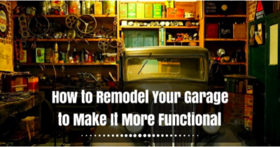 How to make your garage more functional?