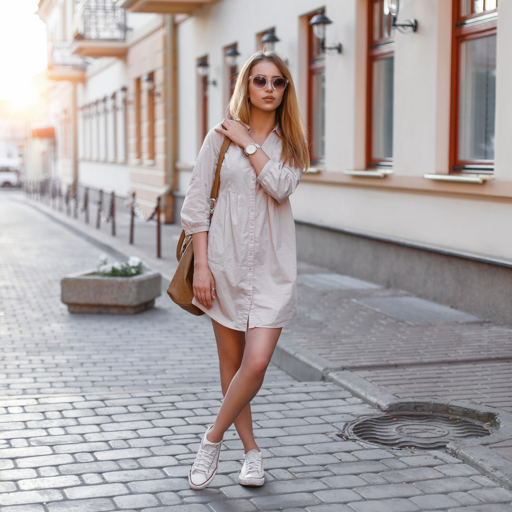 The Overall Benefits Of Comfy Tops and How To Make Them Fashionable woman in street