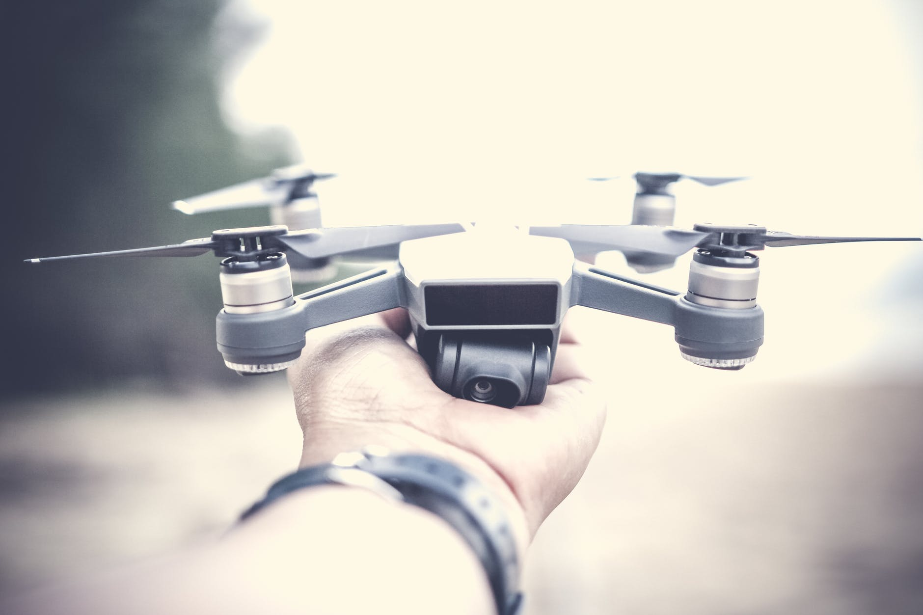 Tips for Drone Wedding Photography hand
