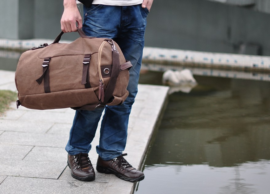 Travel Essentials Every Man Shouldn't Forget bag
