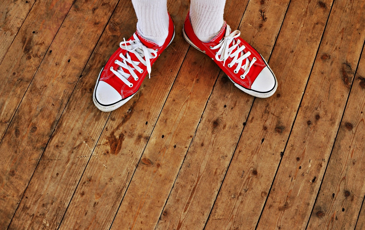 Keep The Underfoot Look Shiny With A Clean Hardwood Floors! sneakers