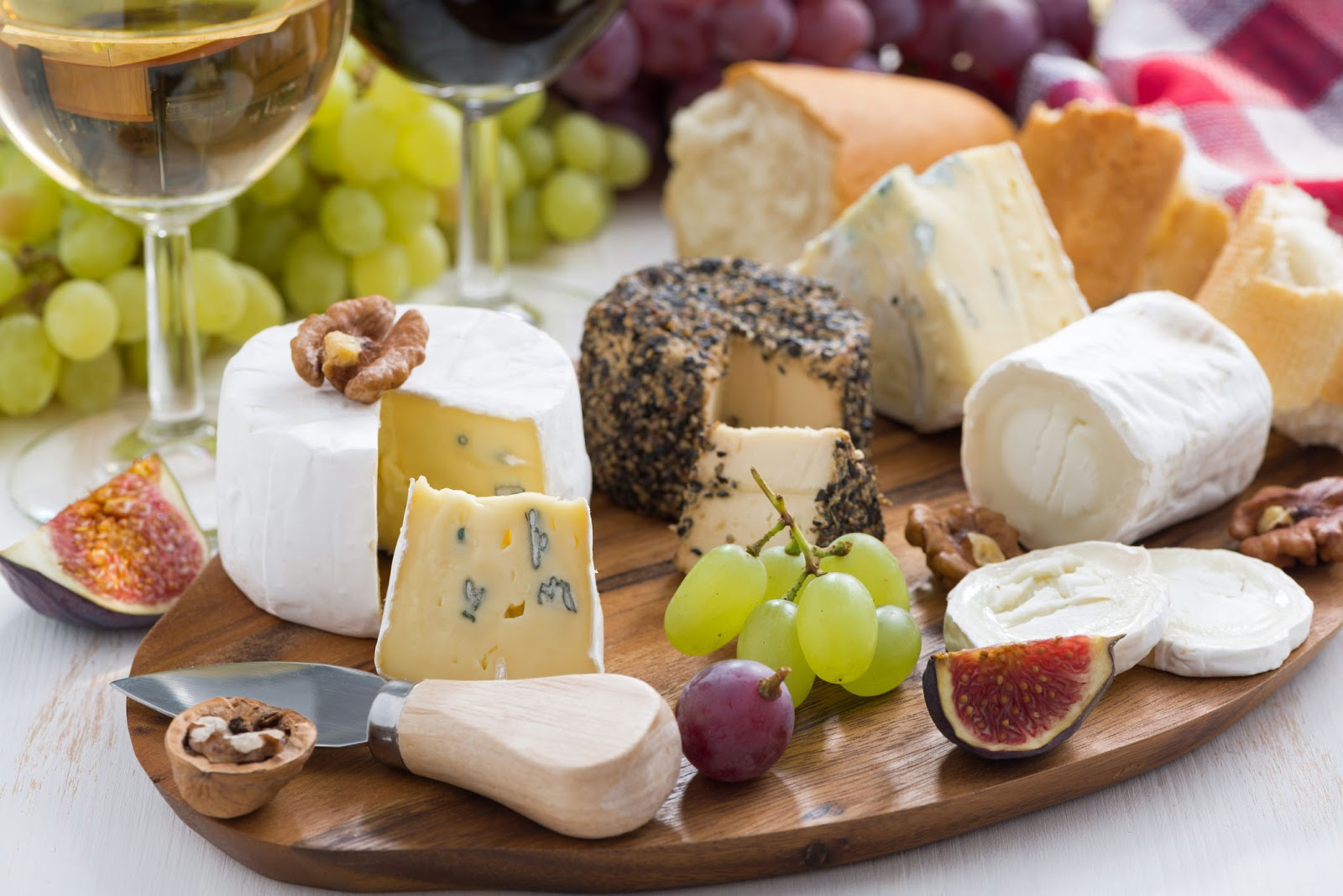 Cheese courses are elegant flavorful and easy to assemble.