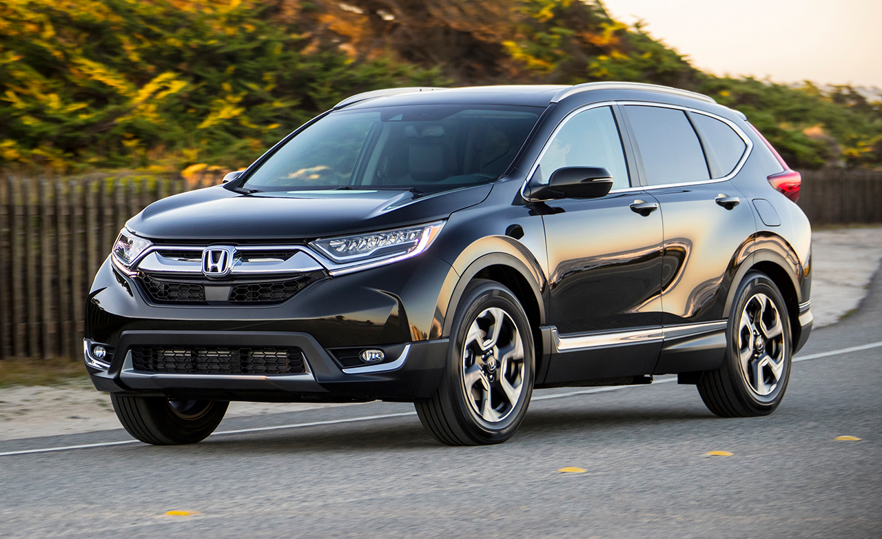 The 10 Highest Rated Family Cars honda