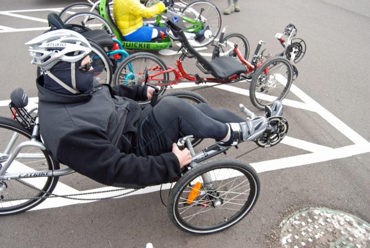 How fast should I go on a recumbent bike?