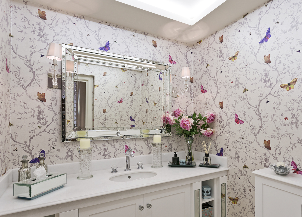 7 Ways to Give Renovate Your Bathroom Cheaply flowers