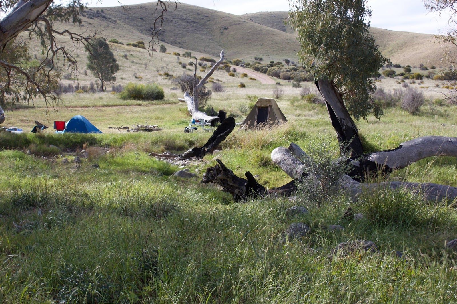 Camping destinations just outside of Adelaide