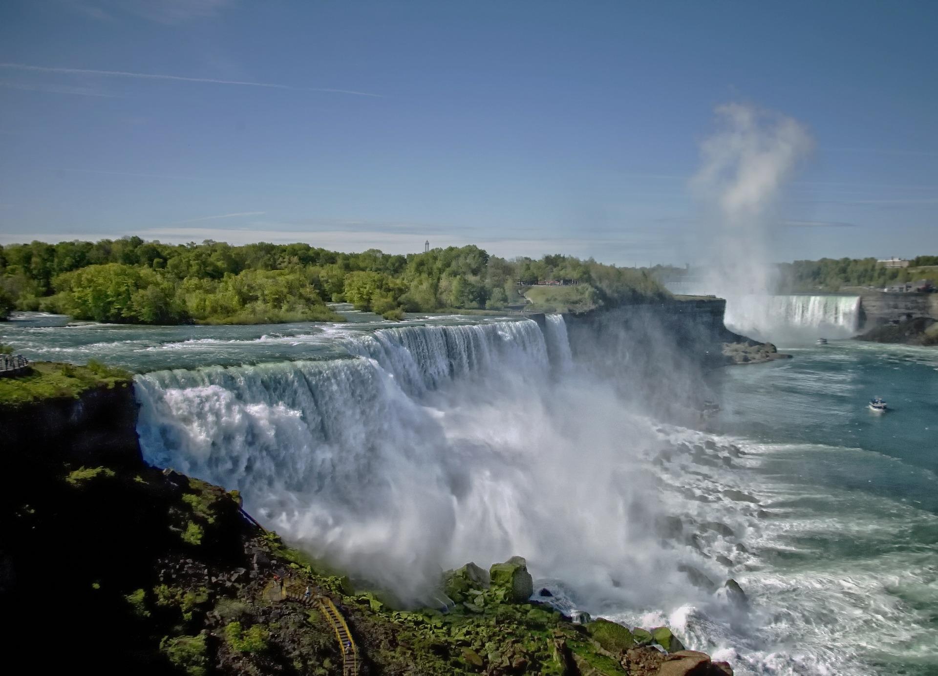Visiting the Niagara Falls