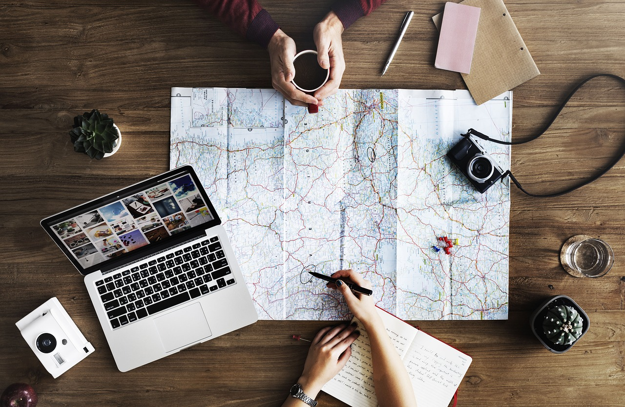 3 Lists to Help You Survive Your Multi-Destination Trip map it out