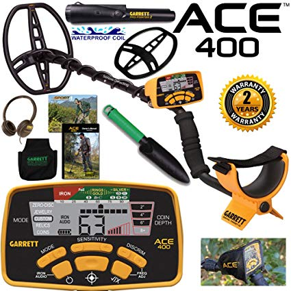 Garrett Ace 400 – One of the best metal detectors ever
