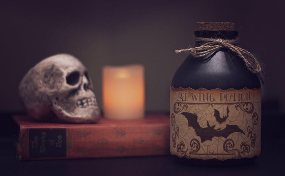 How Do Grown-Ups Celebrate Halloween skull