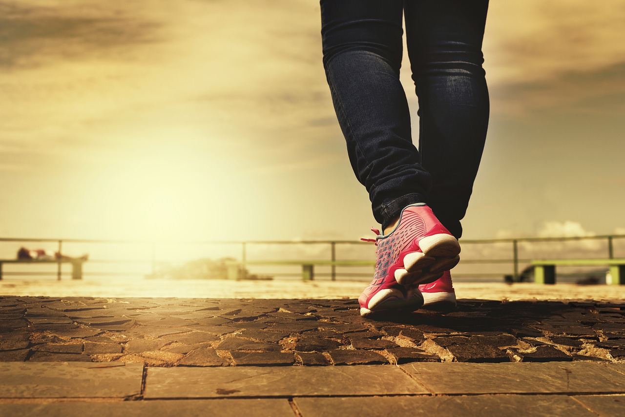 8 Tips for Staying Healthy when Working from Home walking shoes