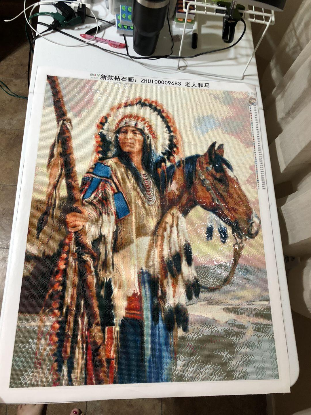 Why You Should Take On Diamond Painting indian chief