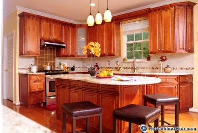 Bathroom and Kitchen Decoration/Cabinets Ideas - Decorate With RTA Cabinets maple