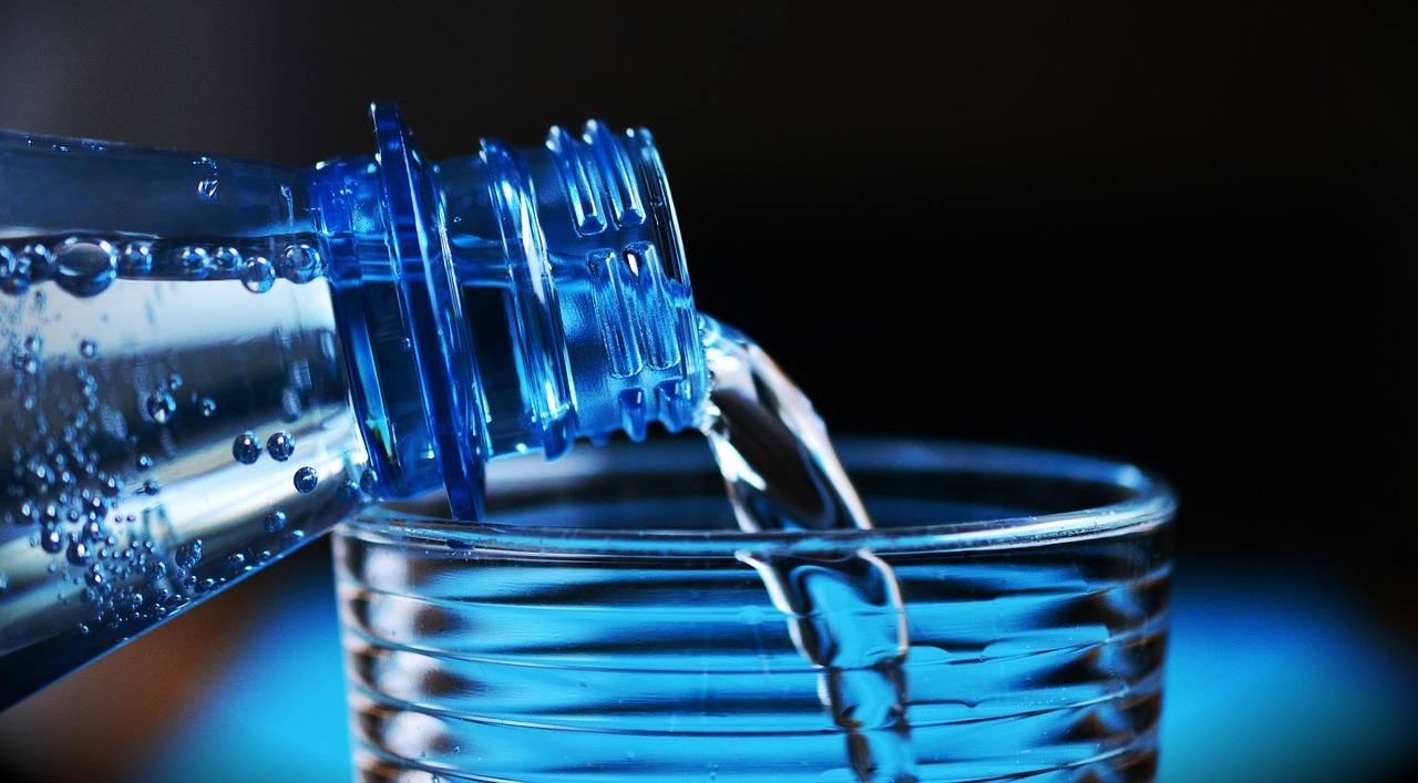 8 Tips for Staying Healthy when Working from Home bottled water