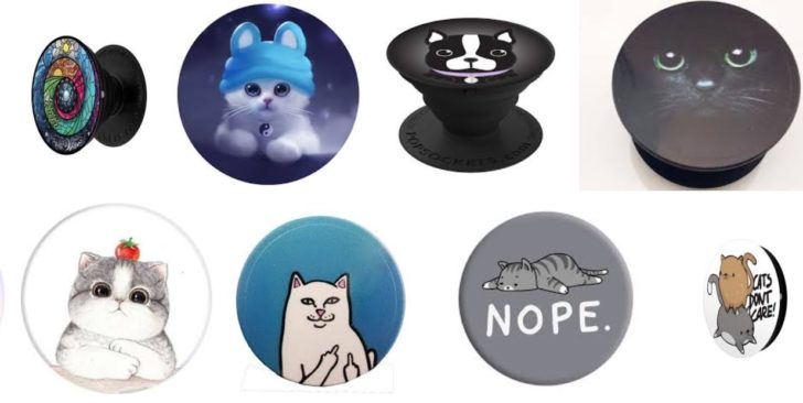Our 5 Favorite Geeky PopSockets for Cat Lovers