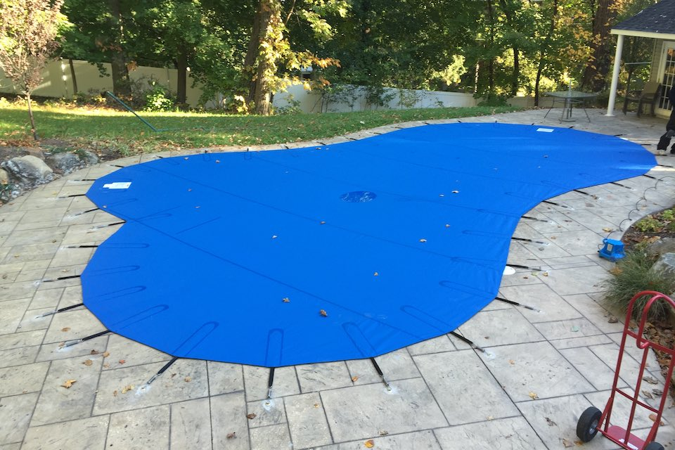 Should you bother renovating your swimming pool? blue
