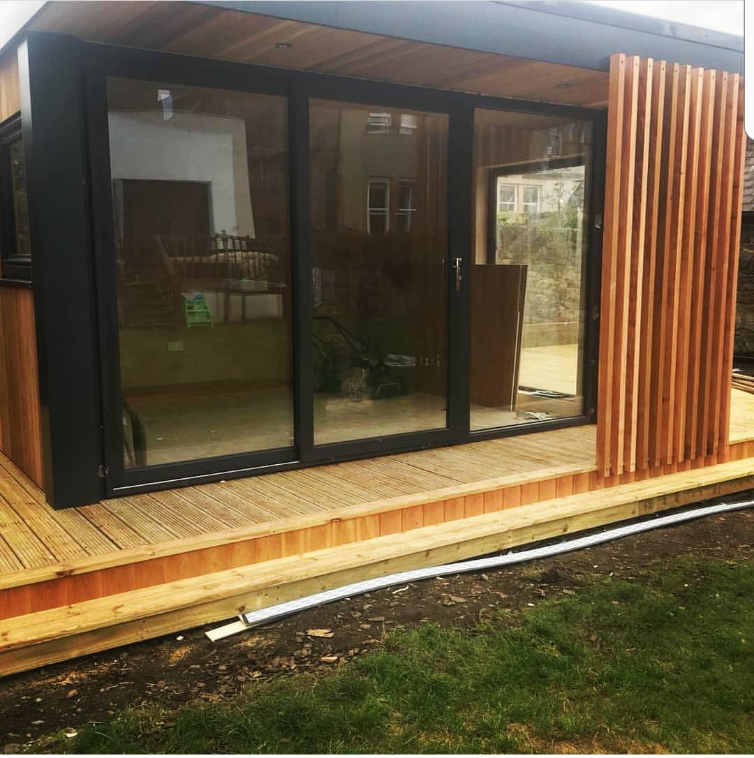 urban garden pods glass door