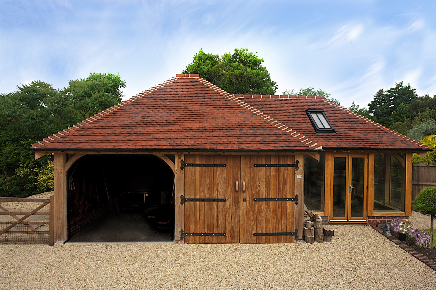 Four Advantages of a Two-Car Garage wooden
