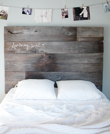 Make Your House A Home With This Rustic DIY Home Design bed