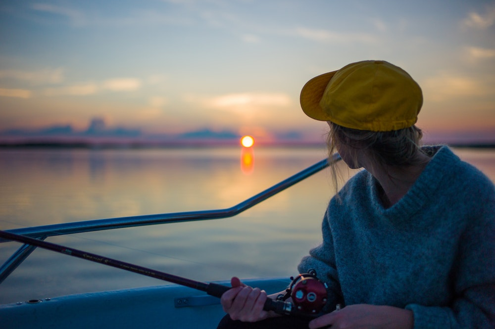 A Comprehensive Guide to the Different Parts of a Fishing Rod sunset