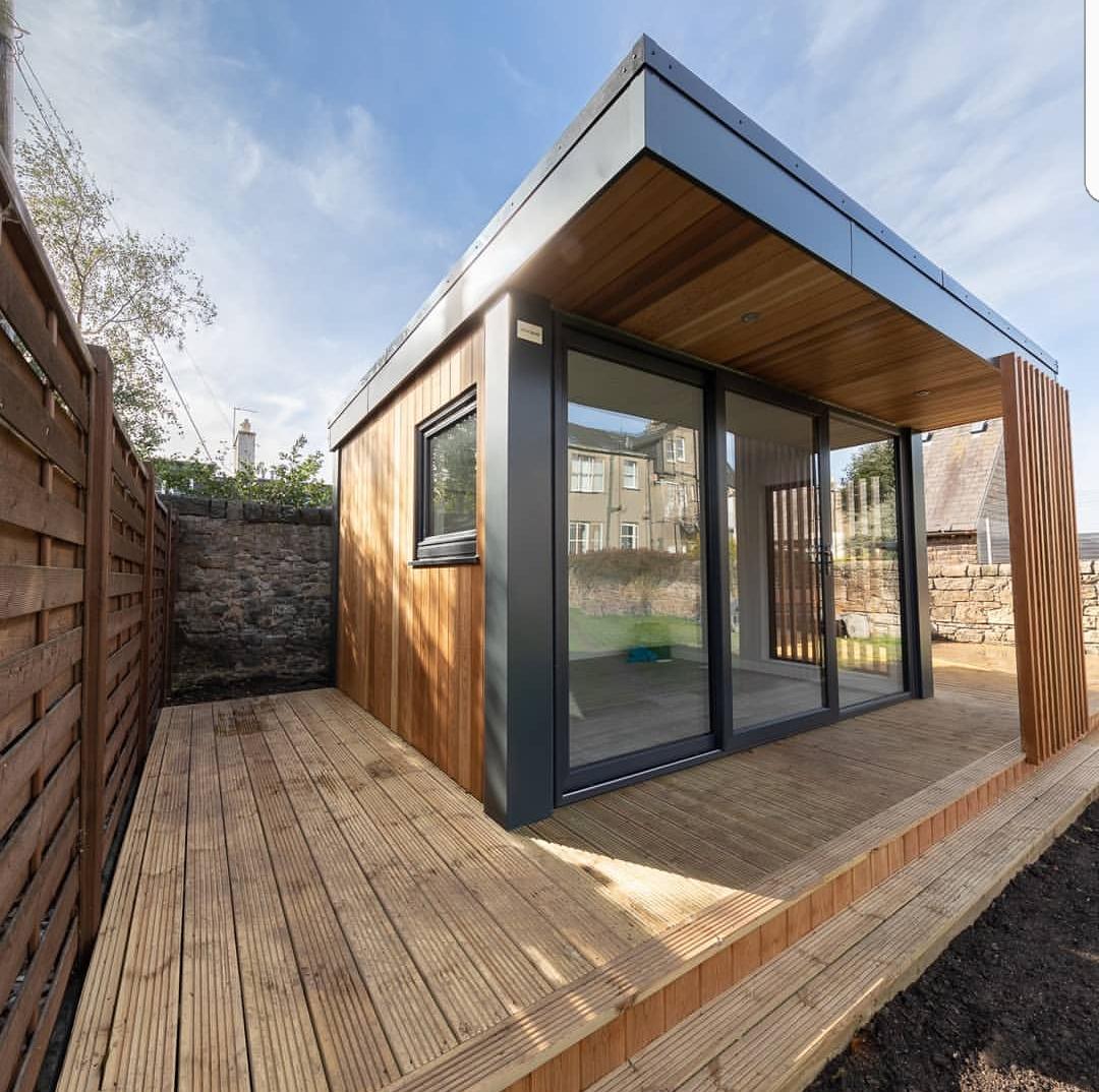 urban garden pods deck