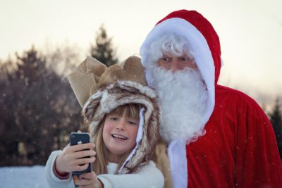 Best places to click pictures with Santa