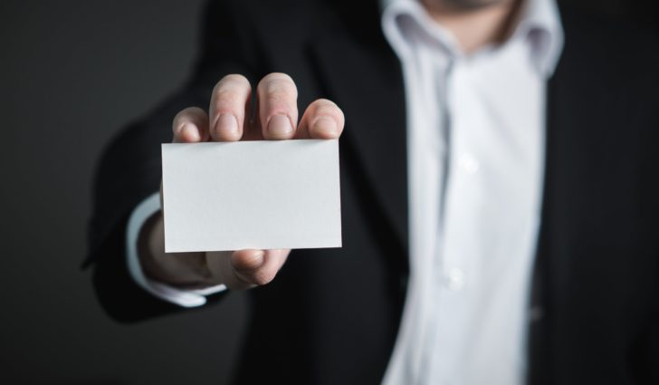How to design an effective business card