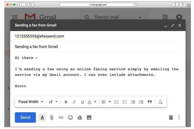 Learn How to send fax from Gmail in a Complete Guide