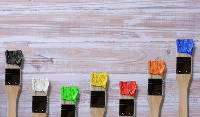 How to Find a Good Craftsman to do House Painting for your Home brushes