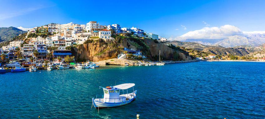 What is the best way to get around Crete?
