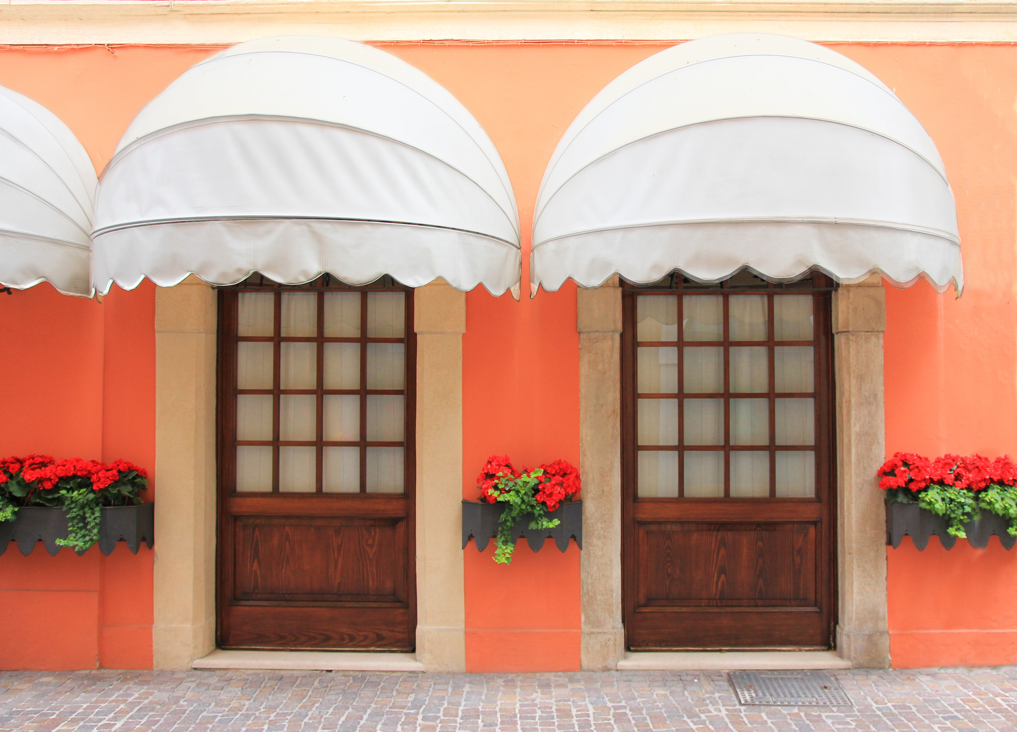 On the Right Track: How to Do a Door Awning That's Tasteful and Timeless
