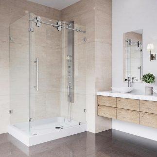Benefits Of Replacing Bathtub With Glass Shower bathroom