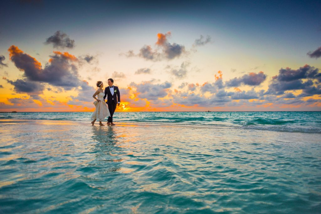 How to Make Sure Your Wedding Morning is Calm & Relaxed sunset