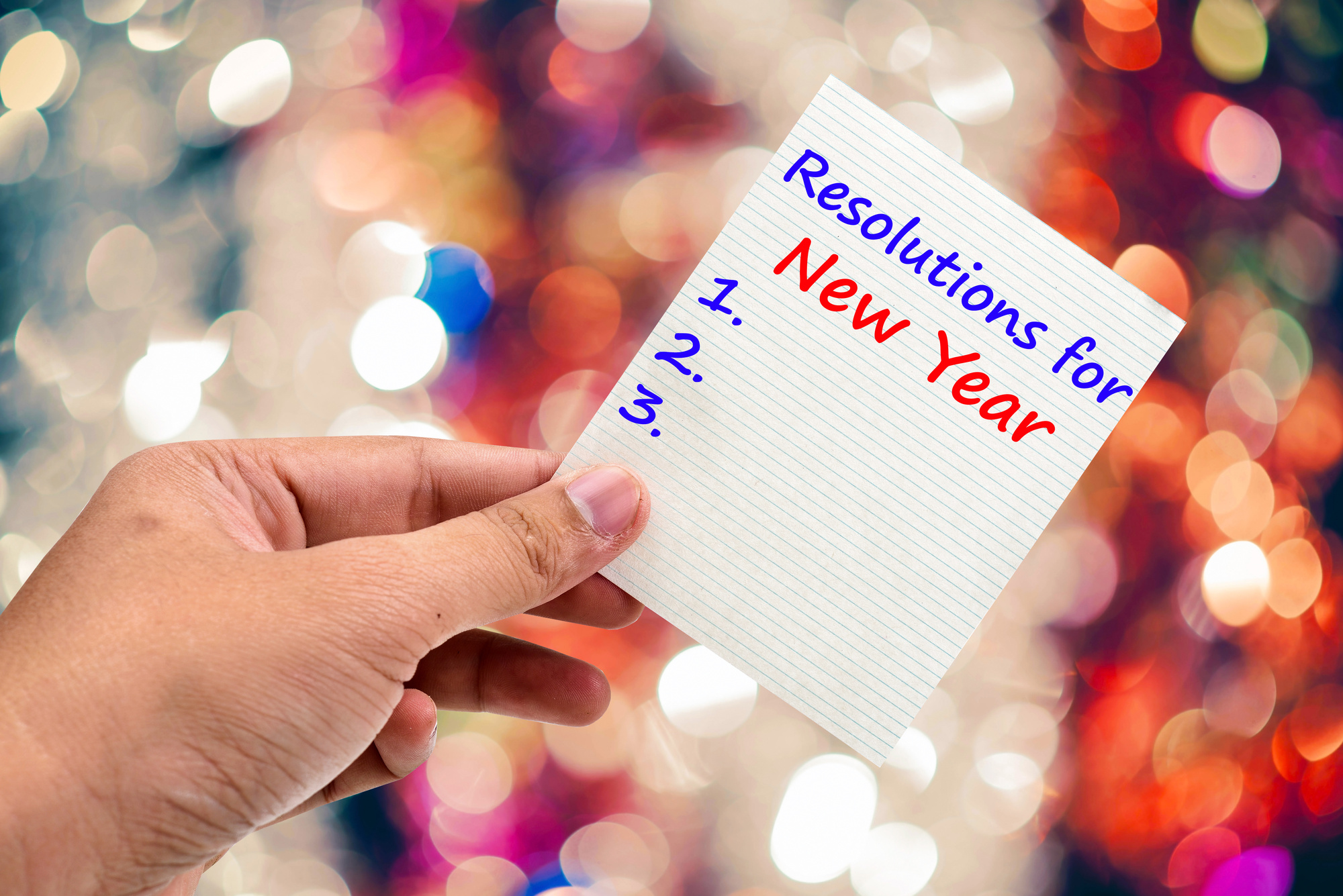 The 5 Best New Year's Resolutions for a Healthy and Happy 2019