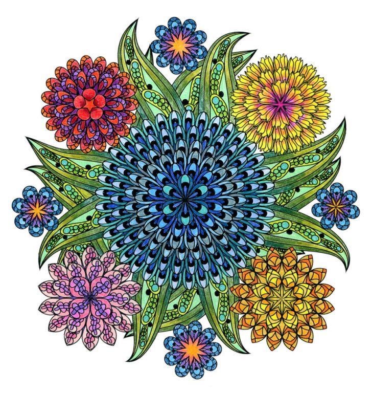 Best Ways To Use Mandala Colouring Books